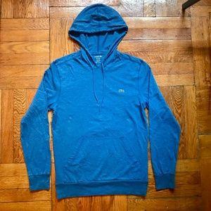 Lacoste Cotton Hoodie - Blue